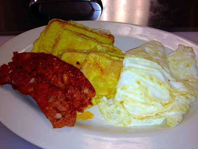 Route 2 breakfast combination with delicious kielbasa. Come in and create your own!